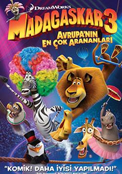 Madagascar 3: Avrupa'nın En Çok Arananları