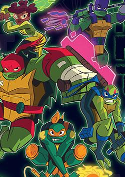 Ninja Kaplumbağaların Yükselişi İzle